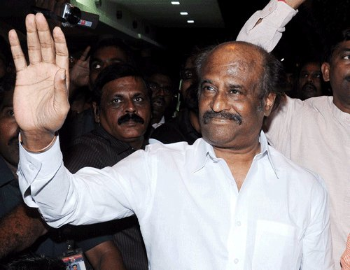Allegation against him is with ulterior motive: Rajnikanth