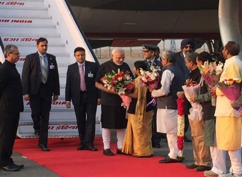 PM returns home after three-nation tour