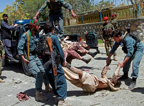 Taliban claim responsibility for Kabul suicide bombing