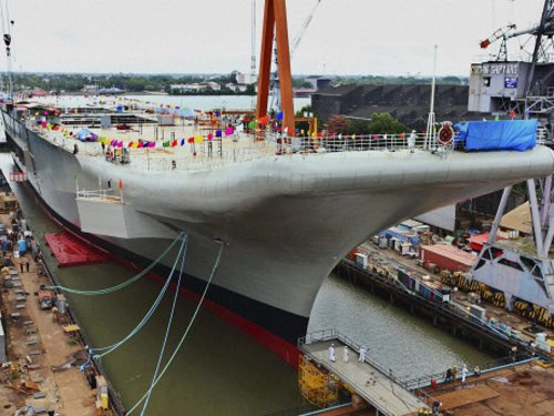 India's first aircraft carrier INS Vikrant to be broken up