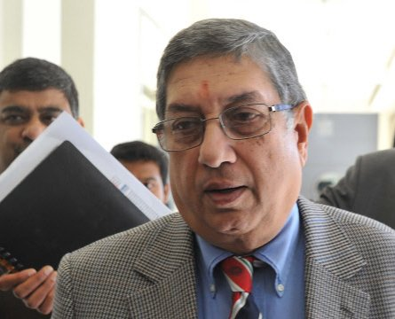 Report does not point to cover-up by Srini, says SC