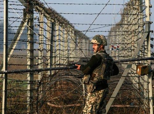 BSF testing smart border fencing system
