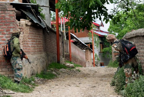Nine soldiers indicted for Kashmir killings