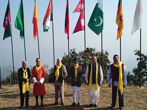 SAARC leaders gather at Nepal resort for retreat