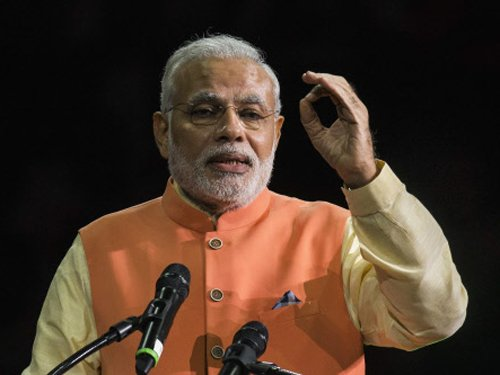 Heavy security blanket put in place for Modi's rally