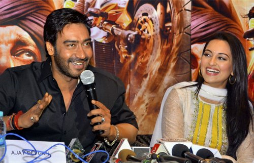 I feel at ease doing romantic movies as well: Ajay Devgn