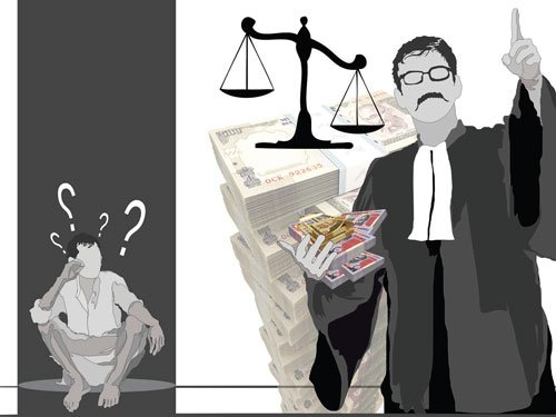 Lawyers' fee: Justice denied?