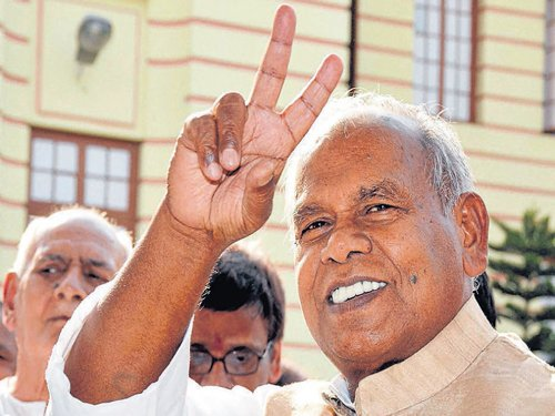 Manjhi calls for Dalit unity in Bihar