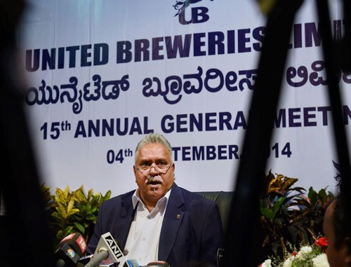 Govt says no to Mallya's reappointment as Kingfisher CMD