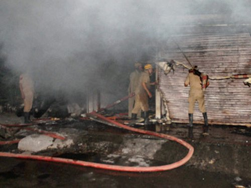Delhi church gutted in mysterious fire, probe on