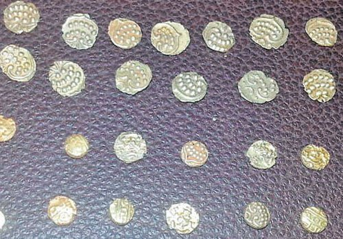 93 ancient gold coins found