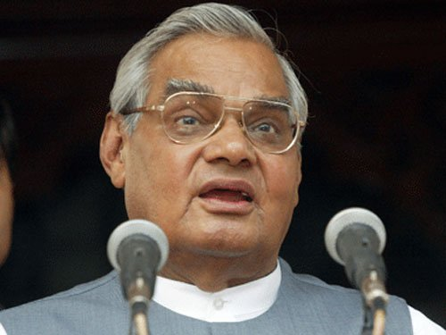 Vajpayee's birthday to be celebrated as 'Good Governance Day'