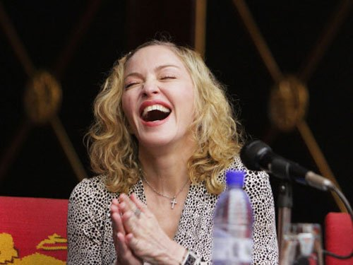 Madonna poses nude, talks about drugs and death