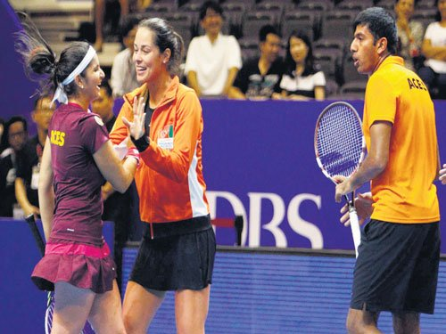 Indian Aces too hot for Royals