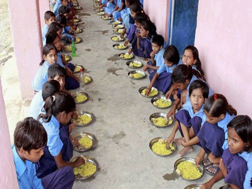 'Can't force kids to eat midday meals'