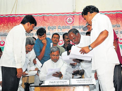 CM Siddu strikes a chord with his people in Varuna