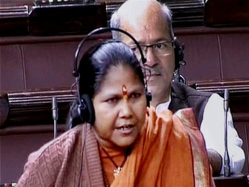 LS uproar over minister's remarks; adjourned briefly
