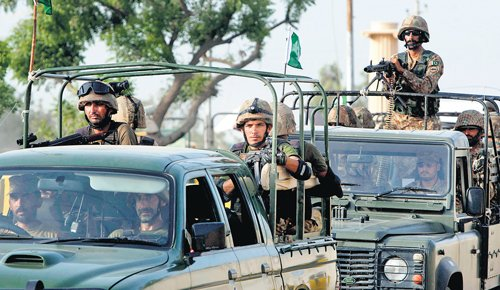 15 militants killed in Pak aerial strikes