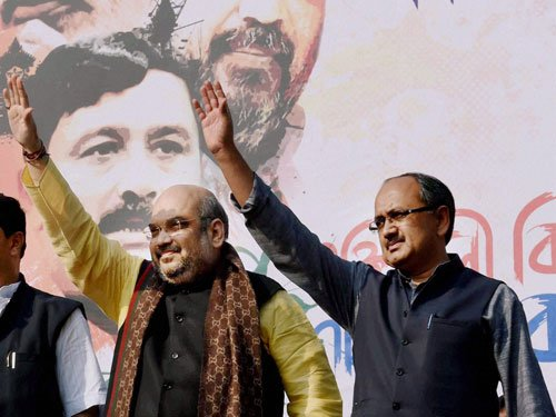"""No """"contradiction"""" between party & govt on Saradha chit fund scam: BJP"""