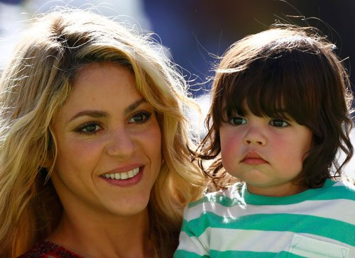 Shakira wants to keep her son away from spotlight