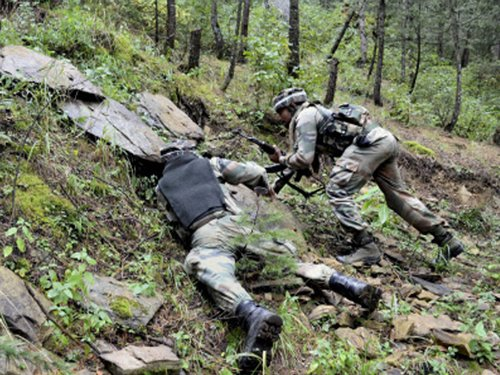 Top LeT commander killed in encounter with security forces