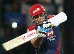 Viru's shot breaks window pane, Gauti puts up brave front