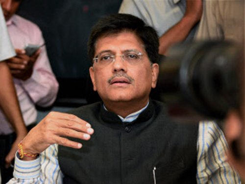 Will ensure 24x7 power to all Indians by March 2019: Goyal