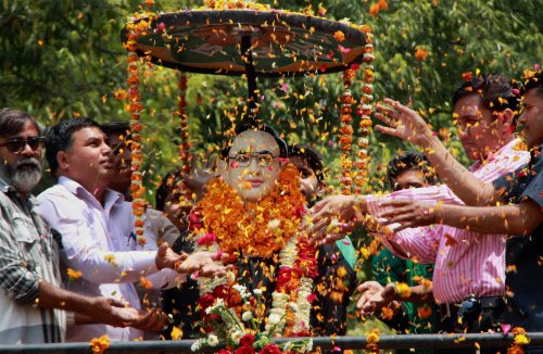 Tributes paid to Ambedkar on death anniversary