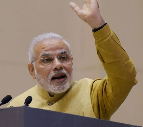 Terrorists tried to attack Indian democracy: PM