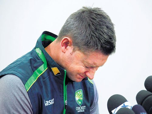 Clarke relieved of media duties ahead of first Test