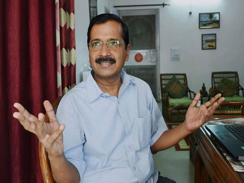 Aam aadmi should also be able to fly business class: Kejriwal