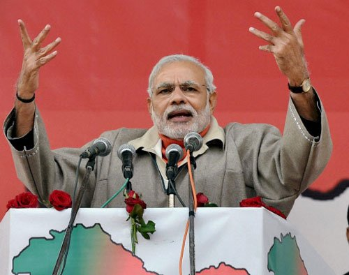 Govt acted against army men accused of shooting teenagers:Modi