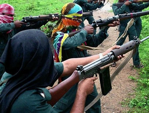 Encounter between Maoists and security forces in Jharkhand