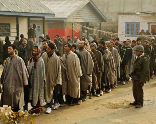 58 per cent voter turnout in 3rd phase of J-K polls