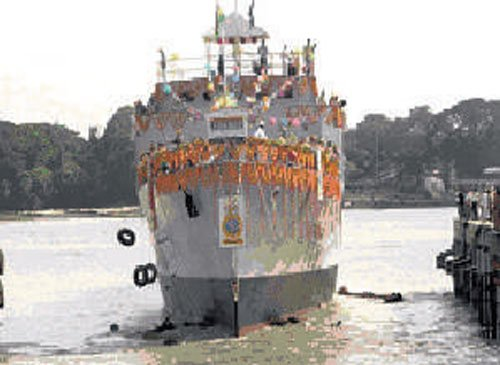 India to export warship to Mauritius
