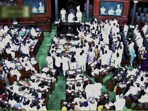 Uproar continues in Lok Sabha over Agra 'conversions'