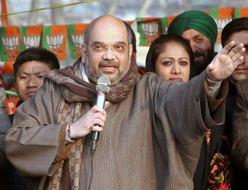 BJP will make Kashmir crown of India: Amit Shah