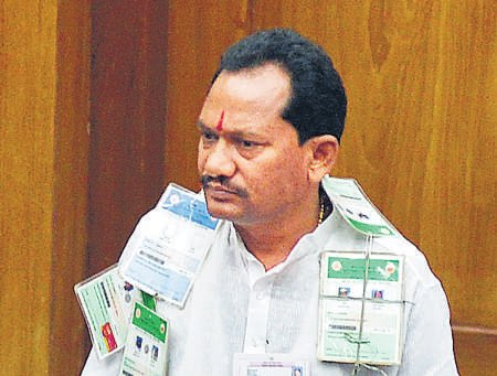 Aurad MLA was detained  at airport in 2011