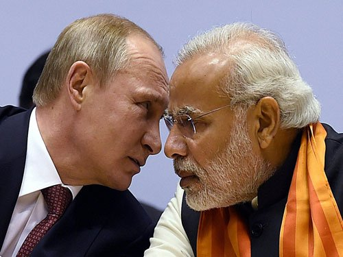 India, Russia sign 20 pacts after Modi-Putin meet