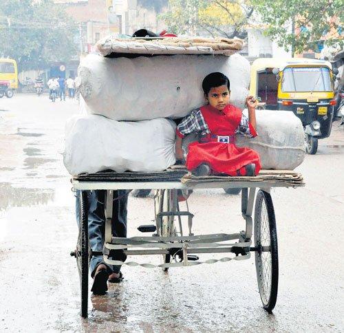 Unseasonal rain washes away paddy crops