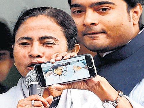 Mitra's arrest draws Mamata's flak