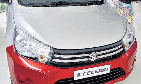 Celerio sashays into top gear for Bengaluru roads
