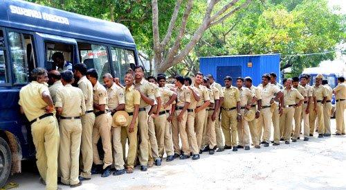 Security up in New Delhi, Bengaluru