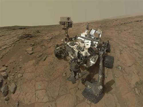 Curiosity detects methane fluctuations in Martian atmosphere
