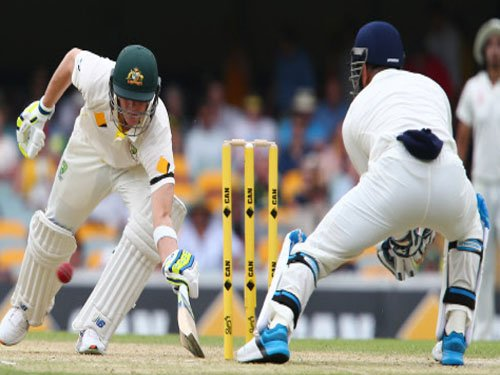 Australia 221 for 4 at stumps on day 2, trail India by 187 runs