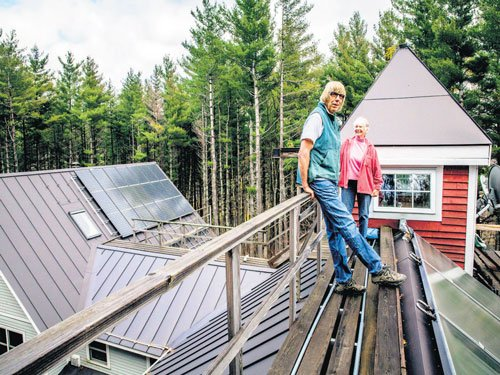 Exhausted by a house that saves energy