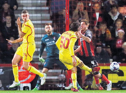 Sterling shines for Liverpool