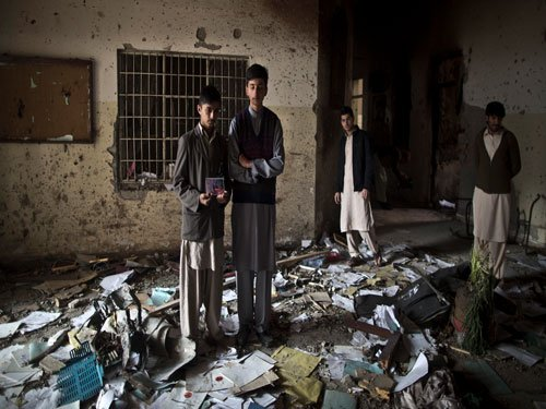 Four detained over Peshawar school attack