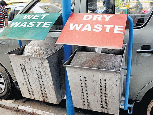 Decade after they were removed, dustbins reappear in City