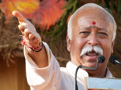 If you don't like conversion, bring law against it: Bhagwat